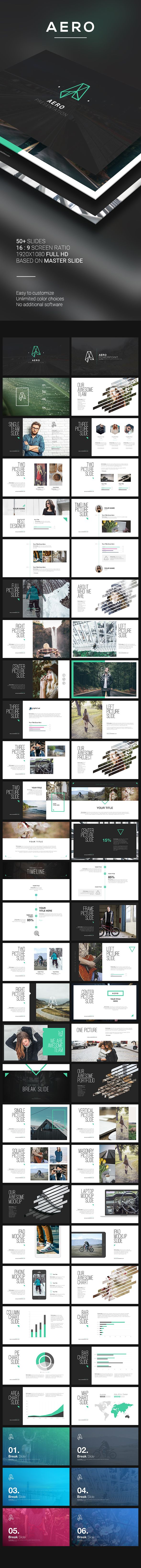 AERO PowerPoint Template  #agency #business #corporate • Available here → http://graphicriver.net/item/aero-powerpoint-template/15867648?ref=pxcr