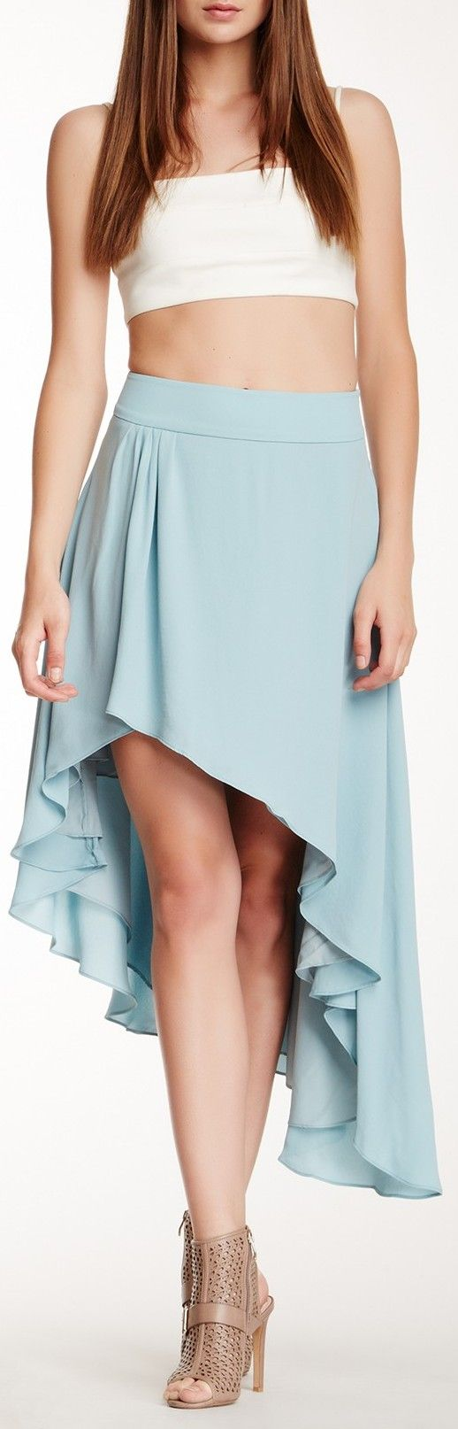 Love the skirt! But you know paired with an actual shirt! :)