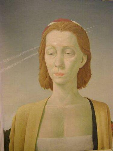 Pyke Koch (1901-1991) - Portret Jkvr. J.C. van Boetzelaer - circa 1954