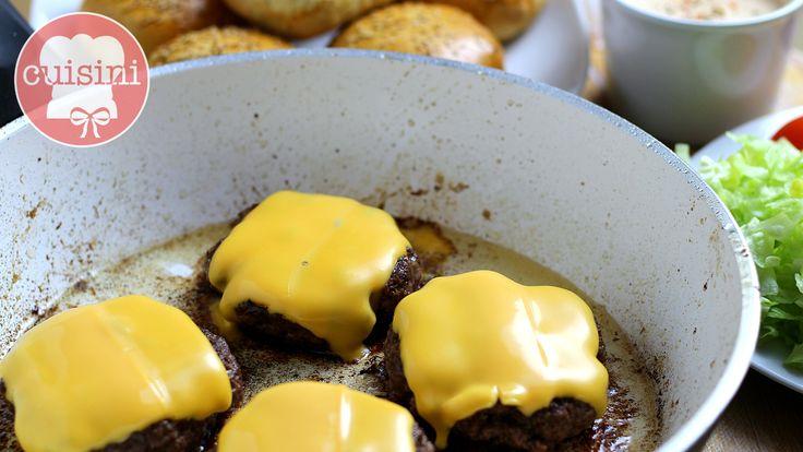 Burger Patties selber machen || 9 Tipps - einfach und ohne Hilfsmittel | Cheeseburger Rezept - CUISINI