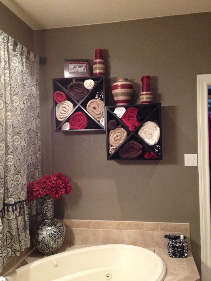 Best 25 Bathroom Towel Display Ideas On Pinterest Towel