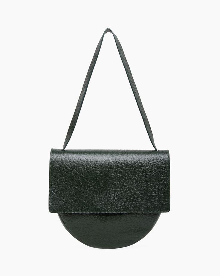 MM6 ny maison martin margiela / front flap circle bag