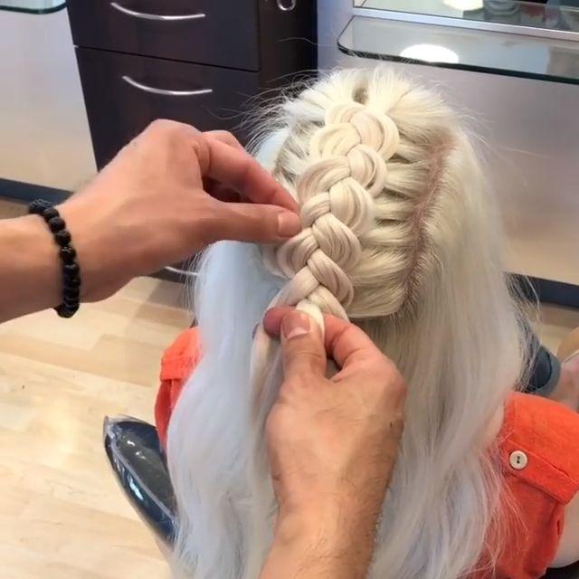 How to Dutch Braid Video Tutorials & Fab Hairstyles