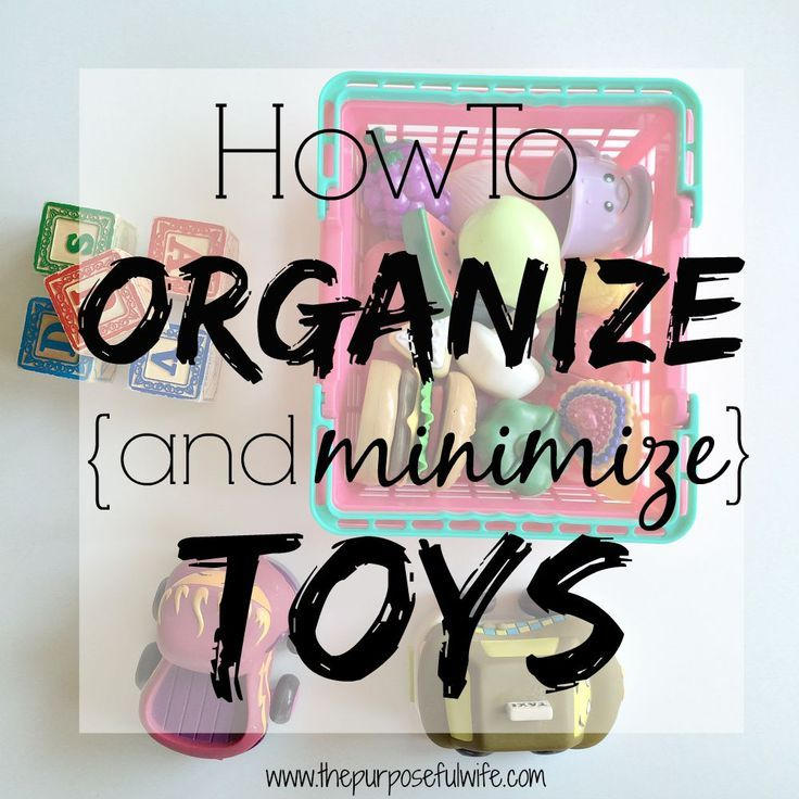 How one mom cut back the clutter and regained control of the toy situation in her home.