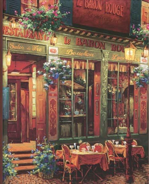 Póngame un café: París, Café a Café por el arte