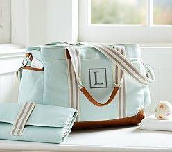 I want this diaper bag! Love this!  Petunia Pickle Bottom Diaper Bags & Diaper Totes | Pottery Barn Kids