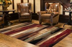 Rustic Landscape Rug Collection