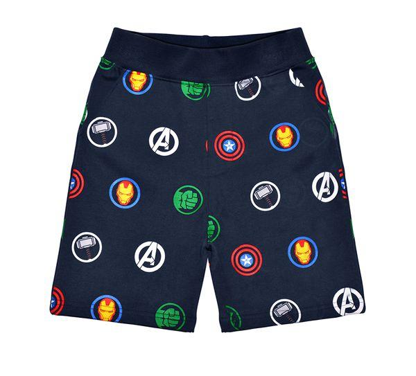 FFAV03 Avengers Multi Logo Repeat Sweatshorts - Marvel - Fabric Flavours