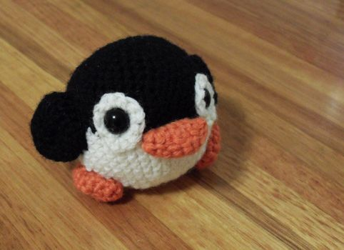 Pinguim do Crochet por Jequila