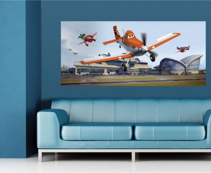 Planes Disney Wall Mural By WallandMore. Disney Collection.
