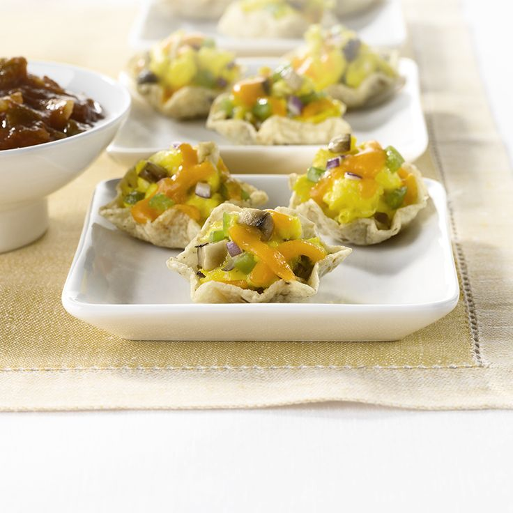 Western Omelet Bites - Create the tastiest Western Omelet Bites, Tostitos® own with step-by-step instructions. Make the best for any occasion.