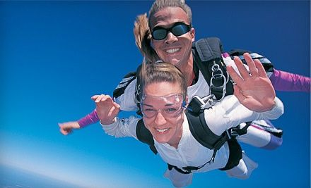 Groupon - $ 169 for a Tandem Skydive for One at Skydive Collegeville ($ 280 Value). Groupon deal price: $169.00