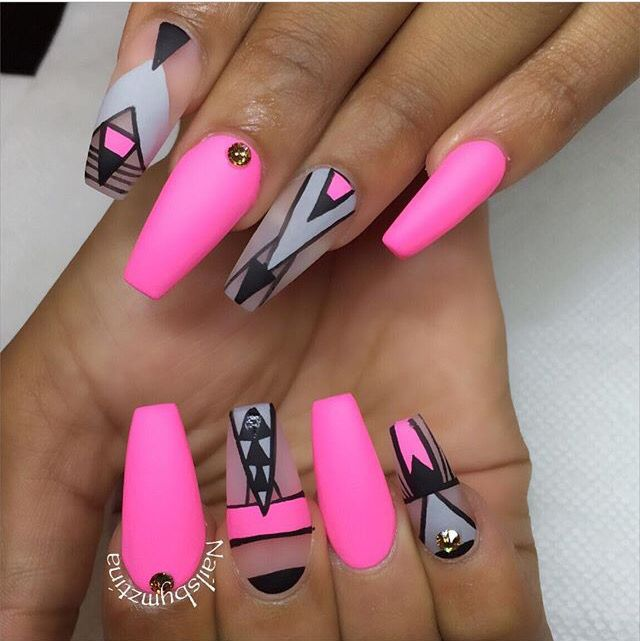 624 best images about beautiful coffin nails on pinterest