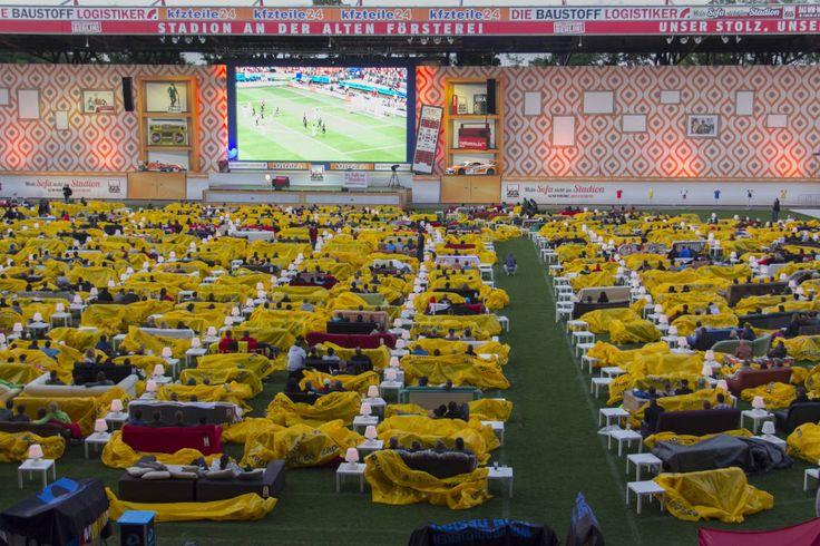 Das Grsste WM Wohnzimmer Der Welt