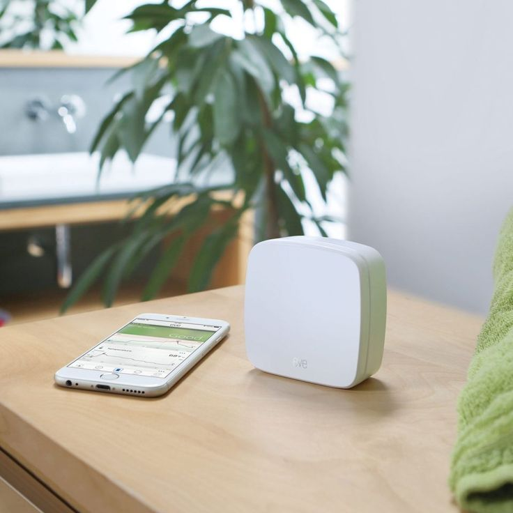 Know the air quality inside your home with the Elgato Eve Room Sensor which measures air quality, temperature, and humidity of the room it is in. The sensor inside is capable of measuring volatile organic compounds (VOC). With Apple's HomeKit integration supported to access your room information all you need to do is ask Siri or use the free app from your iPhone or iPad.
