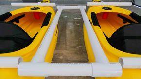 Catamaran Kayak parts cut and ready to attach (1)