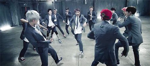 But they're all really good dancers. | EXO, K-Pop's New Boy Band, Is Even Dreamier Than One Direction