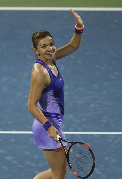 Simona Halep Photos: WTA Dubai Duty Free Tennis  Championship - Day Four