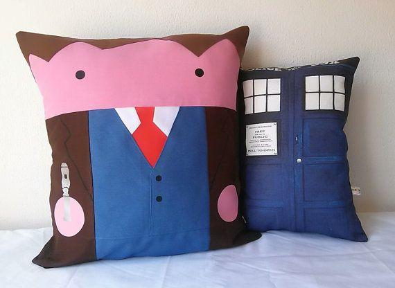 Doctor Who David Tennant y  TARDIS fundas de por Morondanga en Etsy