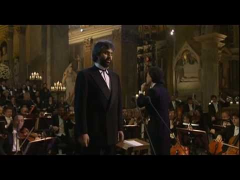 Music video by Andrea Bocelli, Coro dell'Accademia Nazionale Di Santa Cecilia, Norbert Balatsch, Orchestra dell'Accademia Nazionale di Santa Cecilia, Myung-Whun Chung performing Panis Angelicus. (C) 1999 Insieme Srl