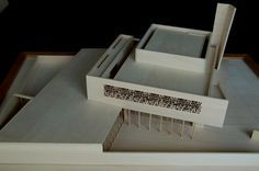 Muslim Community Center model in Portland by Architecture Office