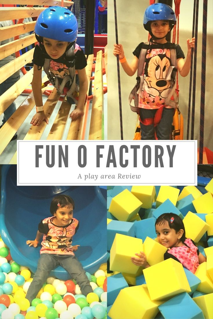 Fun O Factory is an indoor play area at R City Mall in Mumbai. LifestyleProBlog reviews the three sections - softplay, ropecourse and trampoline park.