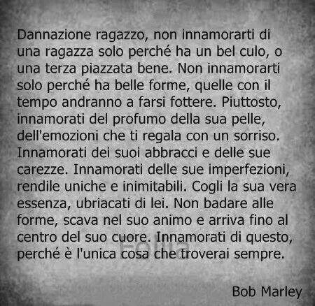 Il tempo della vita. Bob Marley