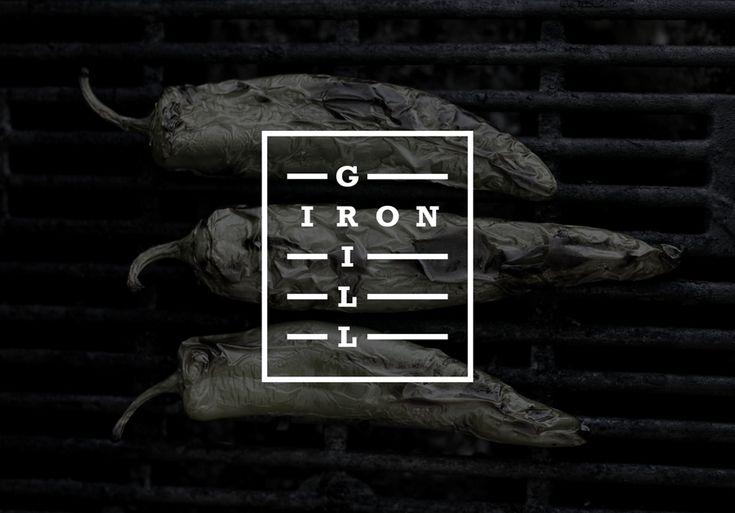 Branding for fast food business Iron Grill by graphic design studio End Of Work