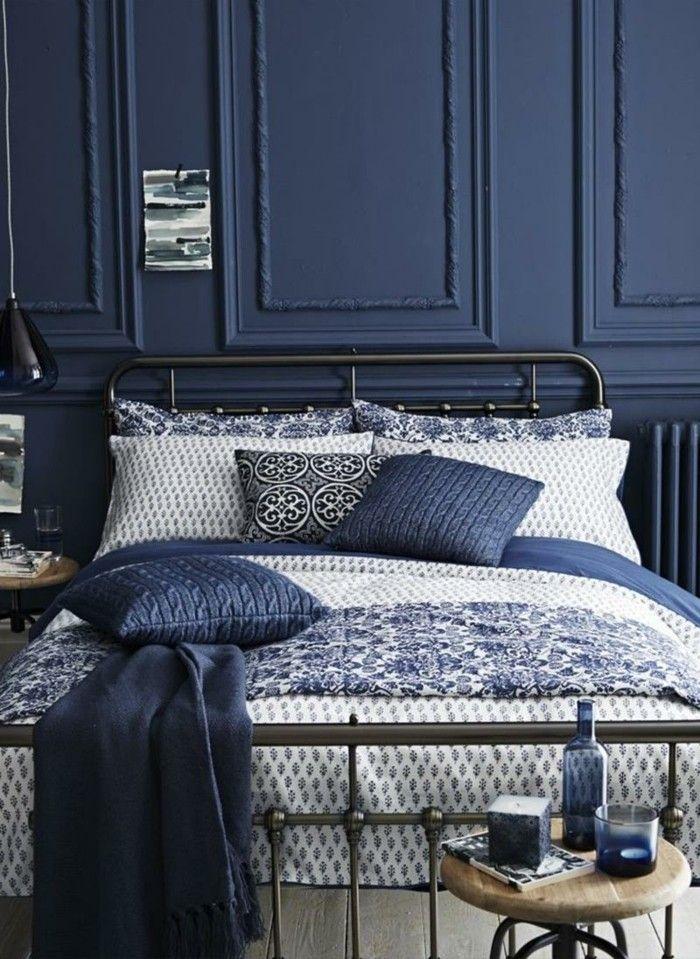 Farbe Blau, Wandfarben, Raumgestaltung, Gesicht, Schlafzimmer, Garten,  Schlafzimmer Innengestaltung, Schlafzimmer Einrichtung, Interior Design  Blogs
