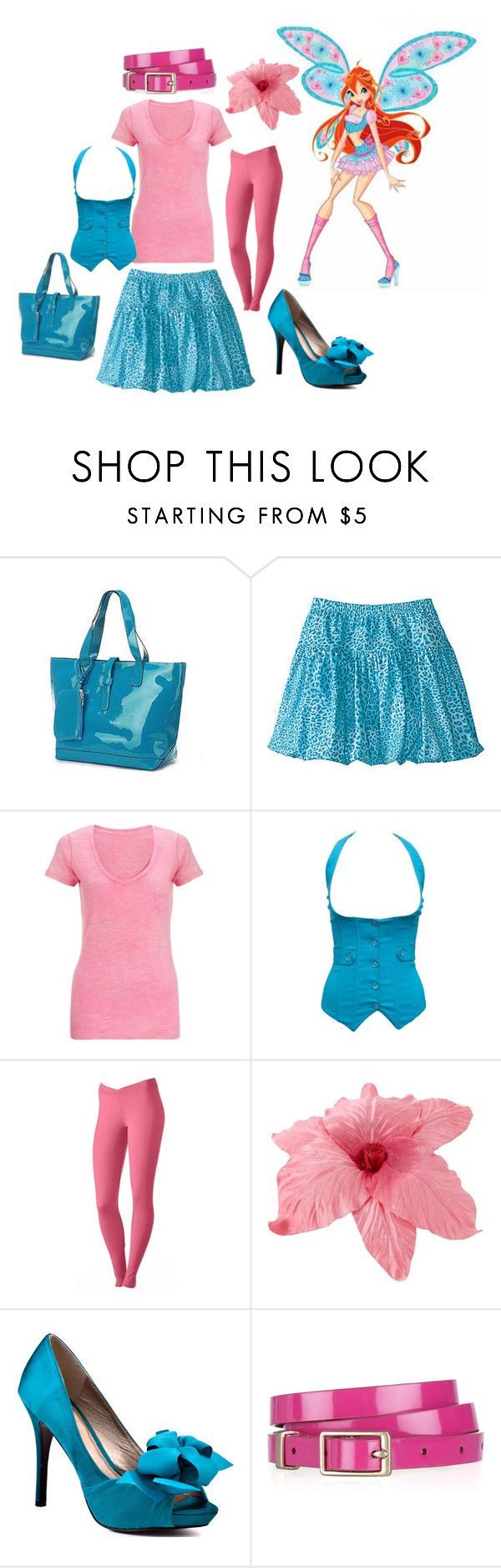 """""""Bloom - Believix"""" by catloverd ❤ liked on Polyvore featuring John Lewis, Cuddl Duds, Johnny Loves Rosie, Luichiny, J.Crew, winx, winx club and bloom"""