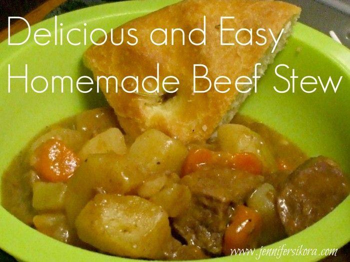 Homemade Beef Stew- Dinty Moore Copycat