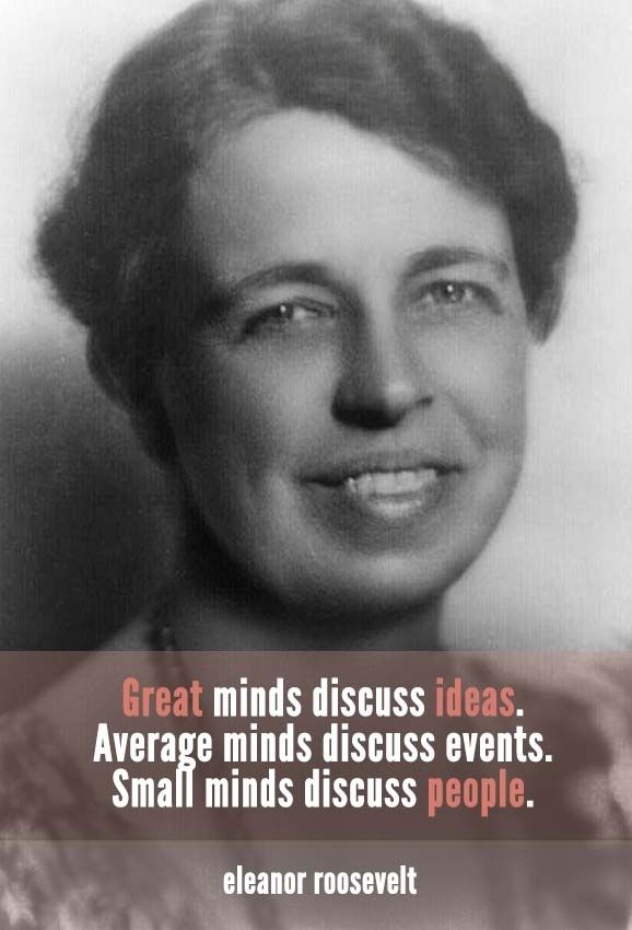 Eleanor Roosevelt | 10 Quotes To Inspire Your Inner Creative