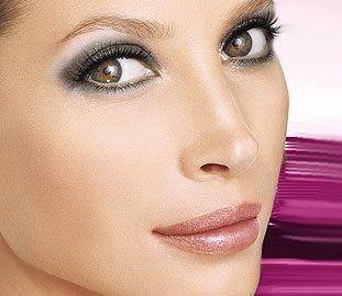 maquillaje para ojos marrones verdosos