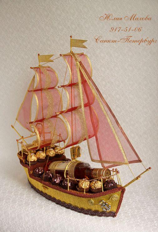Gallery.ru / Фото #34 - Корабли из конфет в СПб - MamaYulia