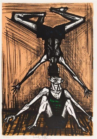 Bernard Buffet - Aus: Mon Cirque, 1968