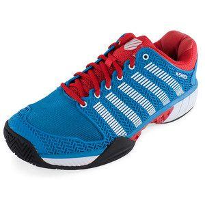 The KSwiss Mens Hypercourt Express Tennis Shoe lightness and breathability