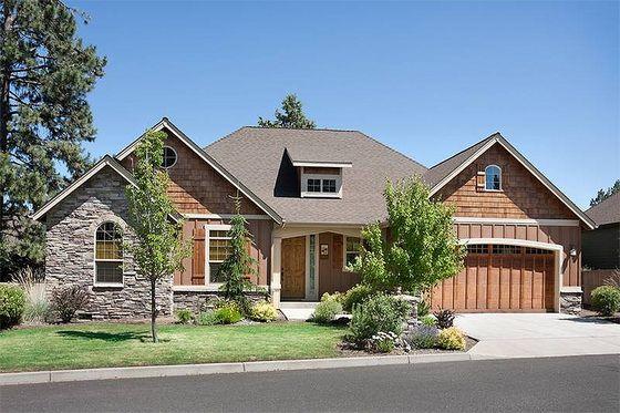Houseplans.com Craftsman Front Elevation Plan #48-103