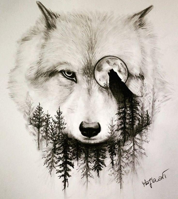 pingl par nikiforos provatos sur wolf pinterest loups tatouages de loup et tatouage homme. Black Bedroom Furniture Sets. Home Design Ideas