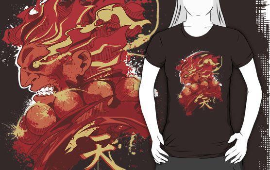 Akuma Street Fighter T-Shirt