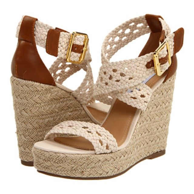 Steve Madden Magestee Natural Wedge wish you didnt steel these brooke.