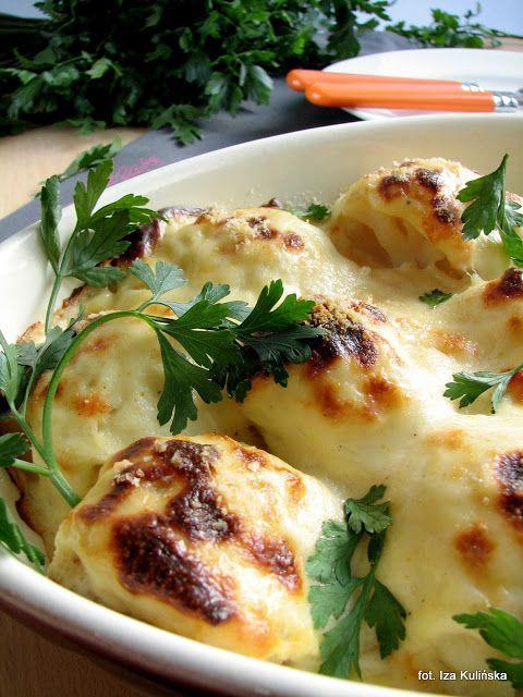 Smaczna Pyza sprawdzone przepisy kulinarne: Kalafior au gratin (zapiekany)