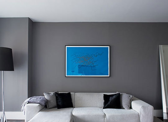 Color Gallery Gorgeous Dark Gray Walls Living Room