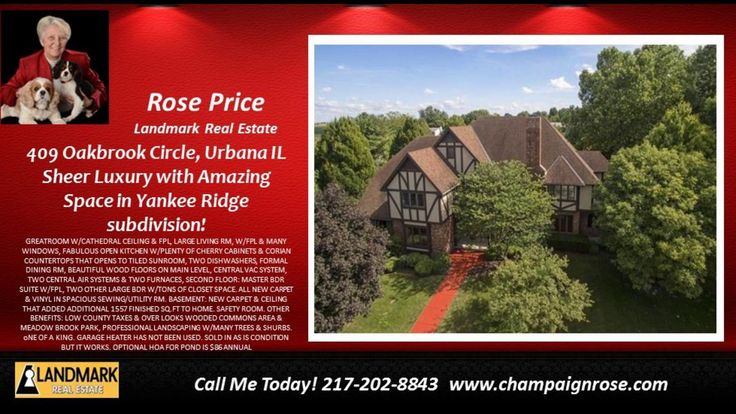 http://ift.tt/2lppEk6 AMAZING SPACE OF SHEER LUXURY IN YANKEE RIDGE SUBDIVISION. (4BDR/3.5BATH) MAIN LEVEL: ONE GUEST BDR  GREATROOM W/CATHEDRAL CEILING & FPL  LARGE LIVING RM  W/FPL & MANY WINDOWS  FABULOUS OPEN KITCHEN W/PLENTY OF CHERRY CABINETS & CORIAN COUNTERTOPS THAT OPENS TO TILED SUNROOM  TWO DISHWASHERS  FORMAL DINING RM  BEAUTIFUL WOOD FLOORS ON MAIN LEVEL  CENTRAL VAC SYSTEM  TWO CENTRAL AIR SYSTEMS & TWO FURNACES  SECOND FLOOR: MASTER BDR SUITE W/FPL  TWO OTHER LARGE BDR W/TONS…