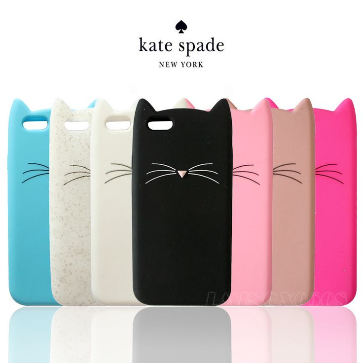 3D LUCKY CAT KATE SPADE NY SOFT SILICONE CASE COVER FOR APPLE iPhone 6s 6 5s 5 #UnbrandedGeneric