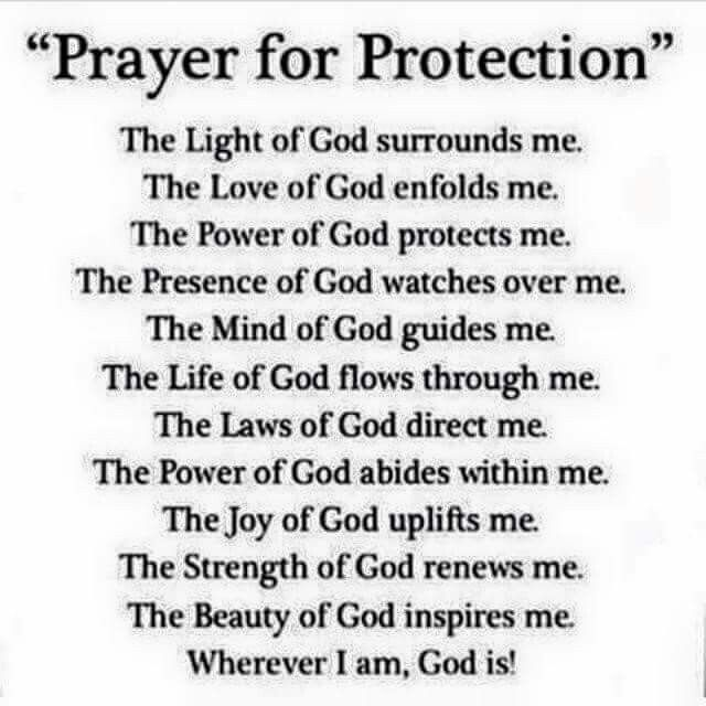 Protection Prayer