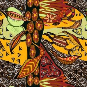 Waterhole from M Textiles, Australia