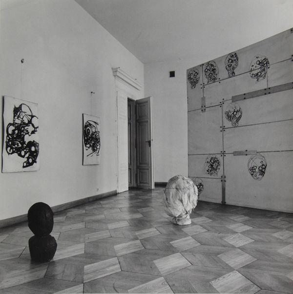 wanda czełkowska, ściana, 1975