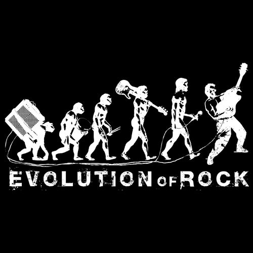 Evolution of Rock -  thank you Glubbs Glubbs