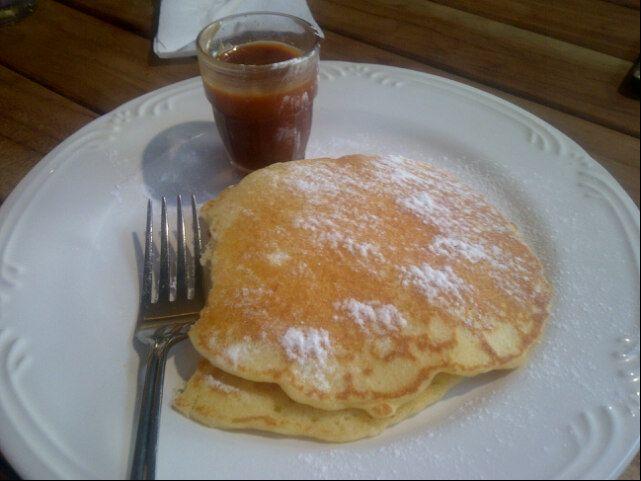 Wafer crisp pancake