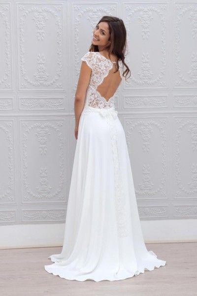 Marie Laporte robe de mariee 2015 - La Fiancee du Panda blog mariage Cecilia_2dos